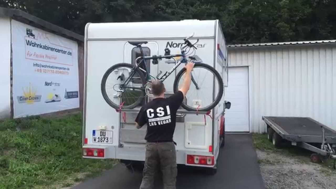 nordstar schwenkbarer fahrradtr ger f r pickup. Black Bedroom Furniture Sets. Home Design Ideas