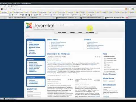 HOW TO CHANGE YOUR JOOMLA TEMPLATE LAYOUTS AND MODULE POSITIONS.flv ...