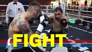 Haro Matevosyan vs Adam Cieslak - 8 rounds super welterweight - Wittenberge