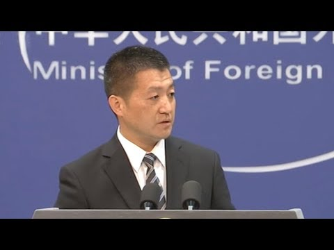 China urges Trump, Kim Jong Un to stop the war of words