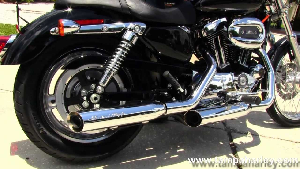 Used 2009 Harley Davidson Xl1200c Sportster 1200 Custom With Exhaust Diagram Screamin Eagle Youtube