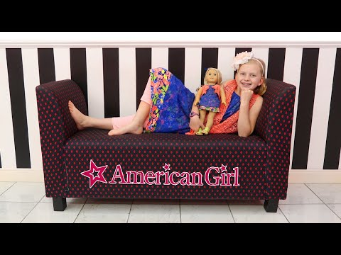 Girls Day Out at the American Girl Doll Cafe & Hair Salon! Alyssa's First American Girl Doll