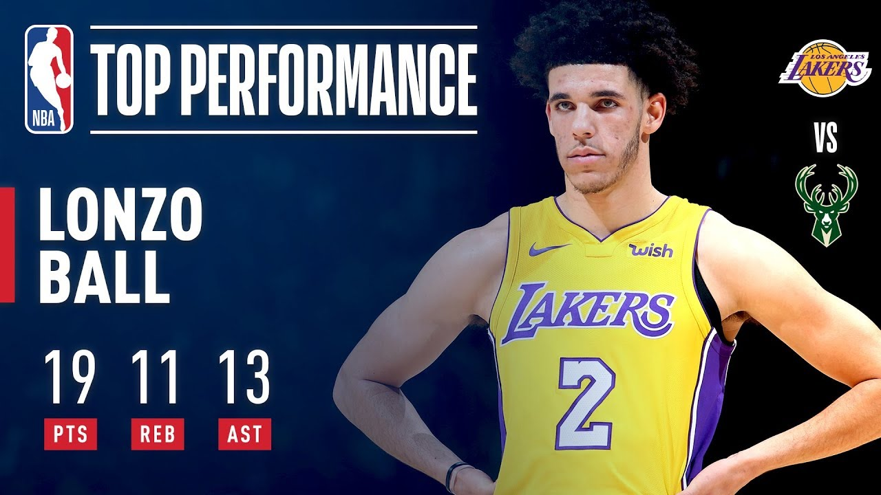 maxresdefault lonzo ball, youngest player in nba history to get a triple double