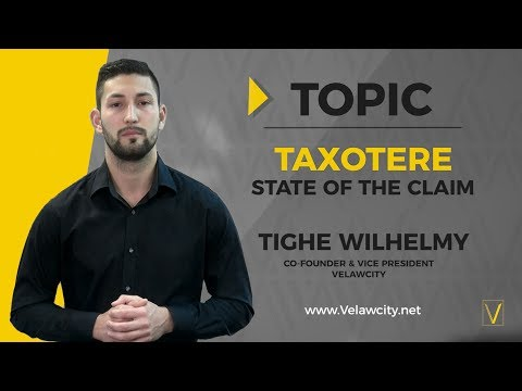 Taxotere Lawsuit | State of the Claim