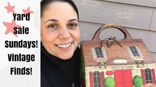 Yard Sale Sundays #3! Thrift haul! Vintage Items and Home Decor
