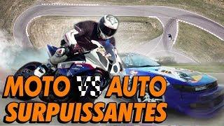 DEFI DRIFT : Auto VS Moto !