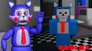 Becoming Five Nights at Candy's Animatronics in Roblox Animatronic World