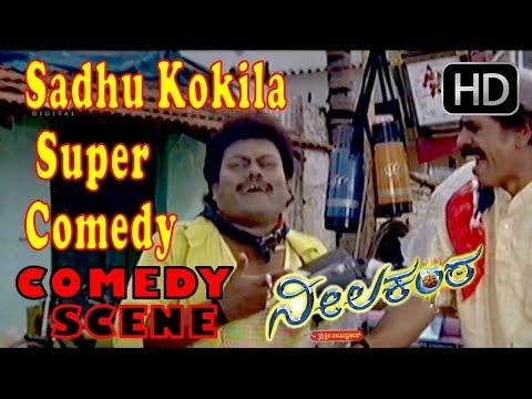 Sadhu kokila comedy   Kannada Comedy Scenes 311   Neelakanta Kannada Movie   Ravichandran, Raksha
