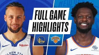 WARRIORS at KNICKS | FULL GAME HIGHLIGHTS | February 23, 2021