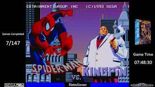 Game Completed 008 of 147 Spiderman vs Kingpin Sega CD