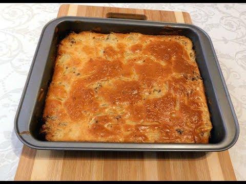 Самое удачное тесто для заливных пирогов!