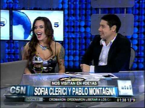 C5N - TELEVISION: SOFIA CLERICI Y PABLO MONTAGNA EN DE 0A5