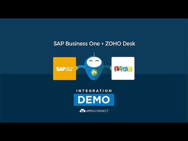 Integrate SAP Business One and Zoho Desk | APPSeCONNECT