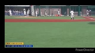 제48회 전국소년체육대회 중등부 야구 8강전 온양중 V…