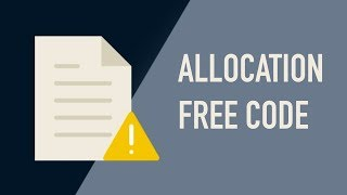 Writing Allocation Free Code in C#