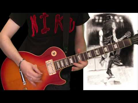 Slash – By The Sword (full guitar cover)