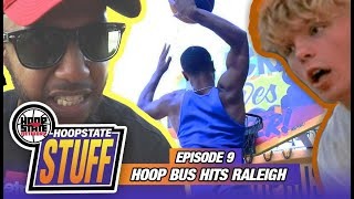 Tristan Jass🤯 INSANE Teen Dunker!! Hoop Bus ➡️ Jeremiah Baker SHUT IT DOWN!! [Hoop State STUFF ep 9]