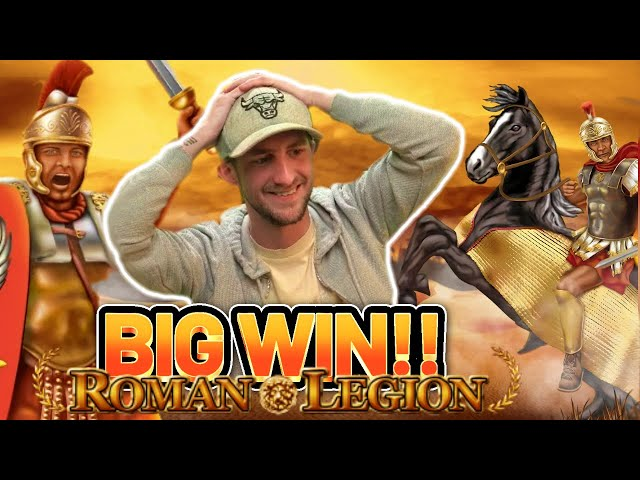 BIG WIN!! ROMAN LEGION BIG WIN -  €10 BET on Casino game from CasinoDaddy