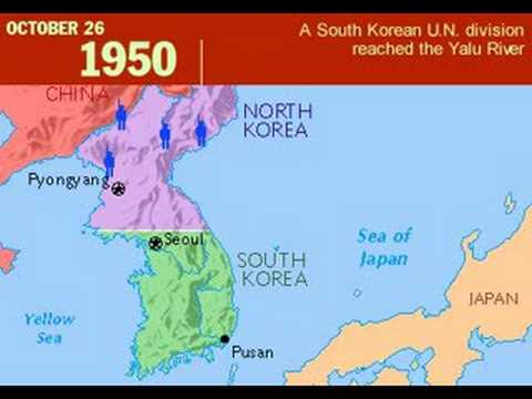 the history of the korean war north versus south