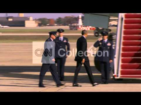 OBAMA DEPARTS JOINT BASE ANDREWS