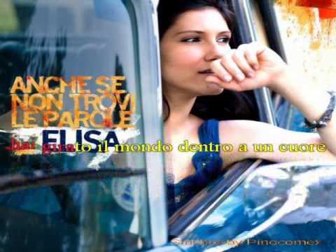 Elisa - Anche se non trovi le parole - karaoke