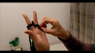 Repeat youtube video 完整篇: 無針手指編織頸巾 Finger Knitting (2)