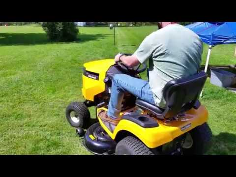 2017 Cub Cadet Xt1 Enduro Series Review And Mowing Footage