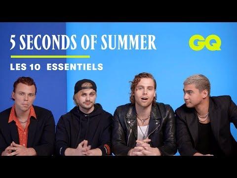 5 Seconds of Summer dévoile ses 10 essentiels