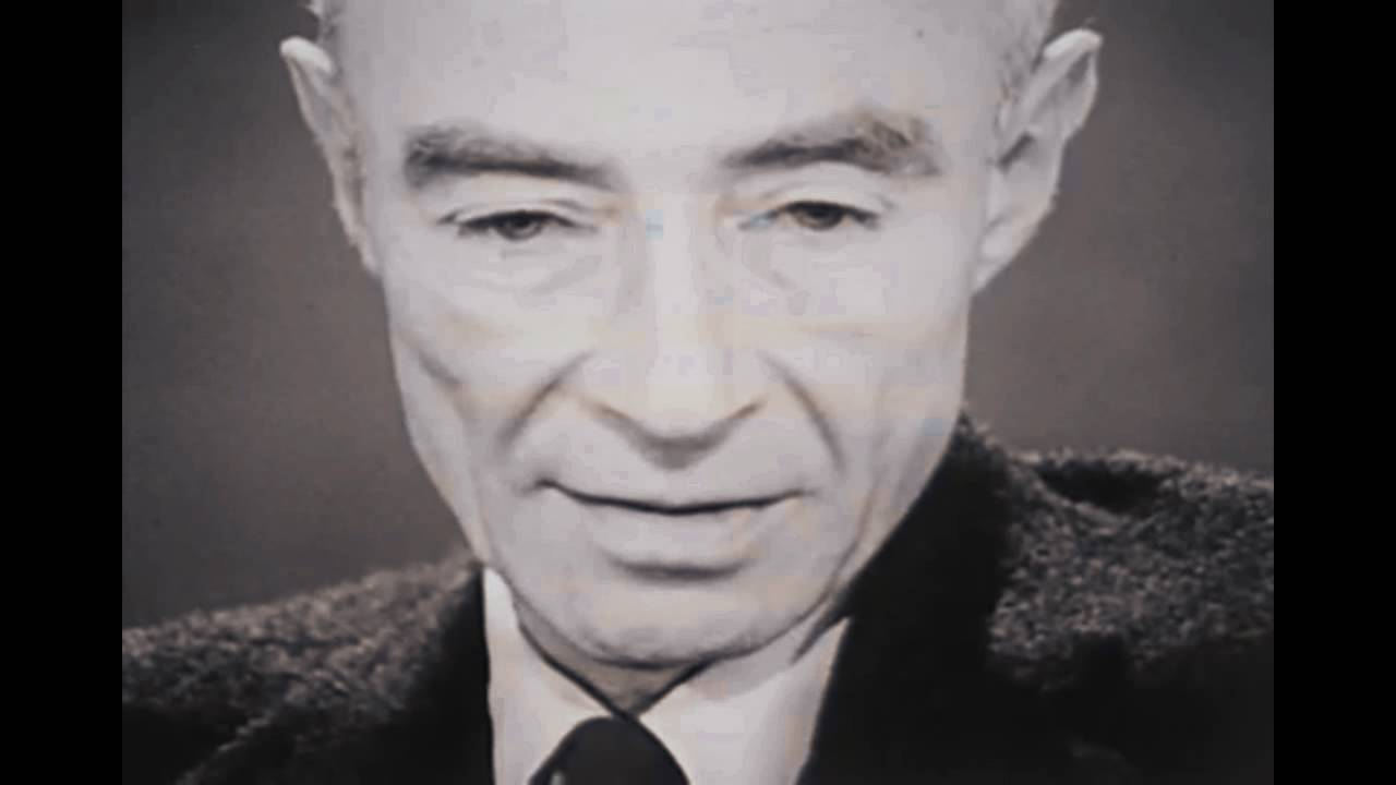 "Oppenheimer Quote Jrobert Oppenheimer ""i Am Become Death The Destroyer Of Worlds"