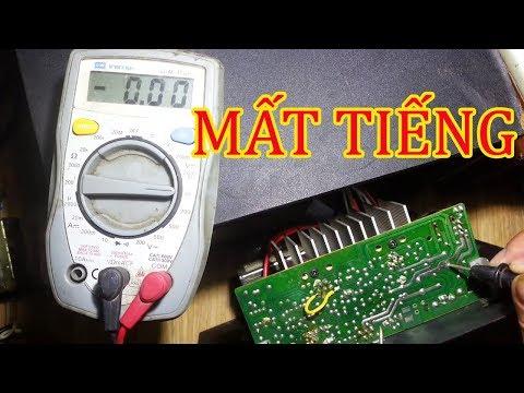 Sửa Loa Vi Tính Microlab X2 Mất Tiếng Loa Lời