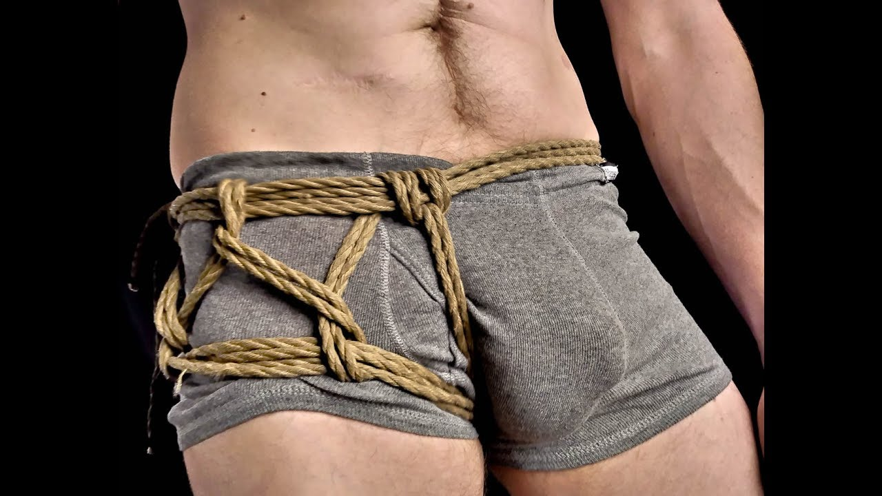 Self bondage rope harness