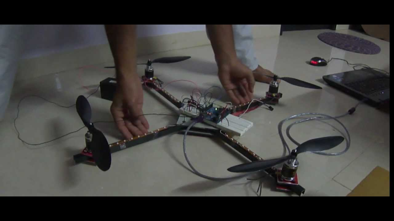 Quadcopter stability using mpu and arduino youtube