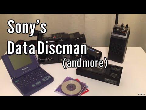 Sony Data Discman, Minolta Camcorder & Police Scanner