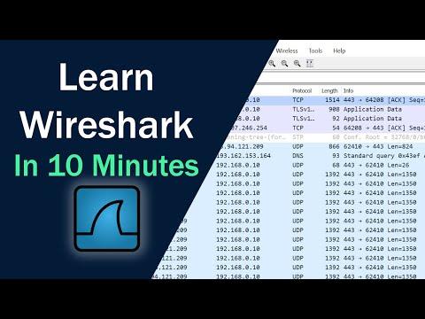 Learn Wireshark in 10 minutes - Wireshark Tutorial for Beginners