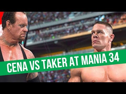 Undertaker Vs. Cena At WrestleMania, According To Dave Meltzer   Filming At Hardy Compound