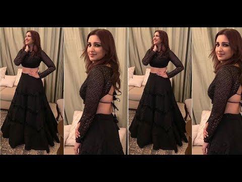 Black Colour Lehenga Choli Designs | Latest Stylish Crop Top Lehenga Design in Black