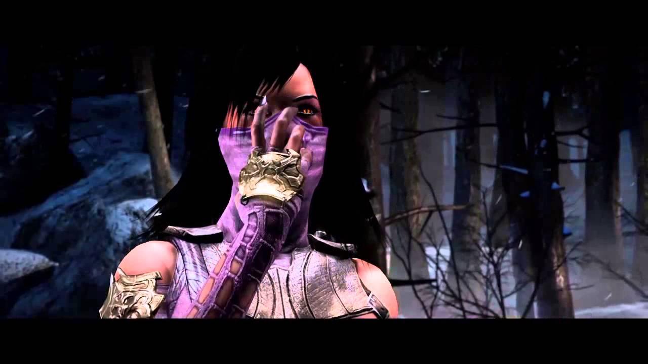 Mortal Kombat X Mileena Vs Kitana All Interactions Intros