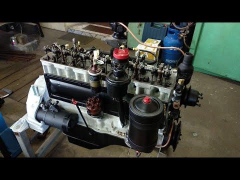 GMC CCKW 270 Engine First Start