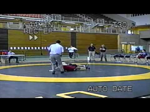 2004 Canada West Championships: 82 kg Danny Einhorn (SFU) vs. Craig Dubray (SASK)
