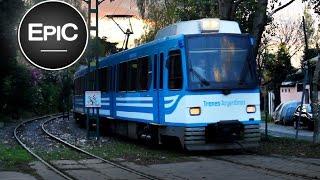 Tren de la Costa (Light Rail Line) - Buenos Aires, Argentina (HD)