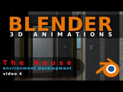 Blender Animation The House Video 4