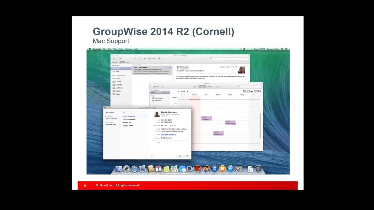 GroupWise 2014 - Email for the Modern World - YouTube