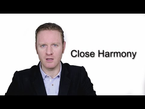 Close Harmony - Meaning | Pronunciation || Word Wor(l)d - Audio Video Dictionary