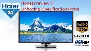 Honest review Haier 24 Inch Led Tv