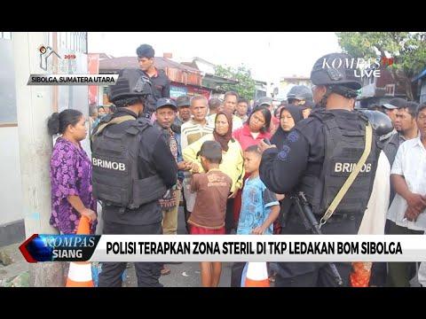 Polisi Terapkan Zona Steril di TKP Ledakan Bom Sibolga
