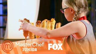 The Corn Dog Competition Begins! | Season 5 Ep. 4 | MASTERCHEF JUNIOR