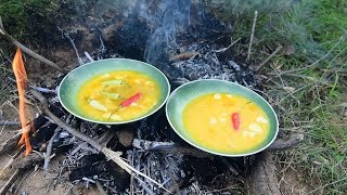 Recipe Cooking Egg Without Using Oil | Primitive Technology Cooking n Enjoy