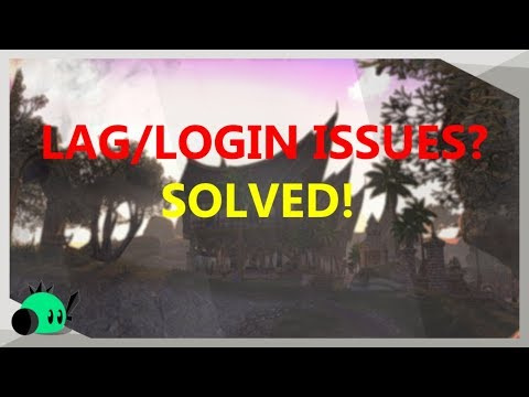 BEST SETTINGS: LOWER LAG and NO LOGIN ISSUES in ESO
