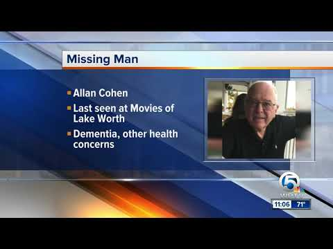 Allan Cohen: Silver Alert issued for missing Lake Worth man