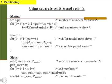 Lecture 3 Parallel Algorithm Design